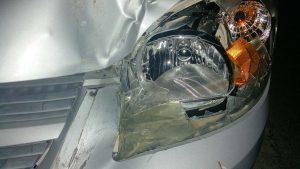 Nach einem Pkw-Unfall reicht oftmals die Reparatur von Teilen nicht aus. Der Geschädigte hat Anspruch auf neue Teile.